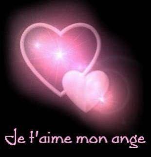 love ecrit en coeur